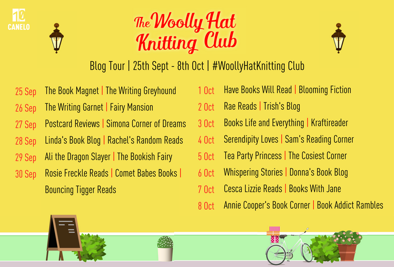 Knitting Club Book : The book magnet tour woolly hat knitting club