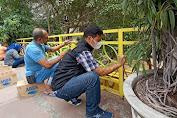 Warga Rehabilitasi Cagar Budaya Jembatan Kebajikan Tjong Yong Hian