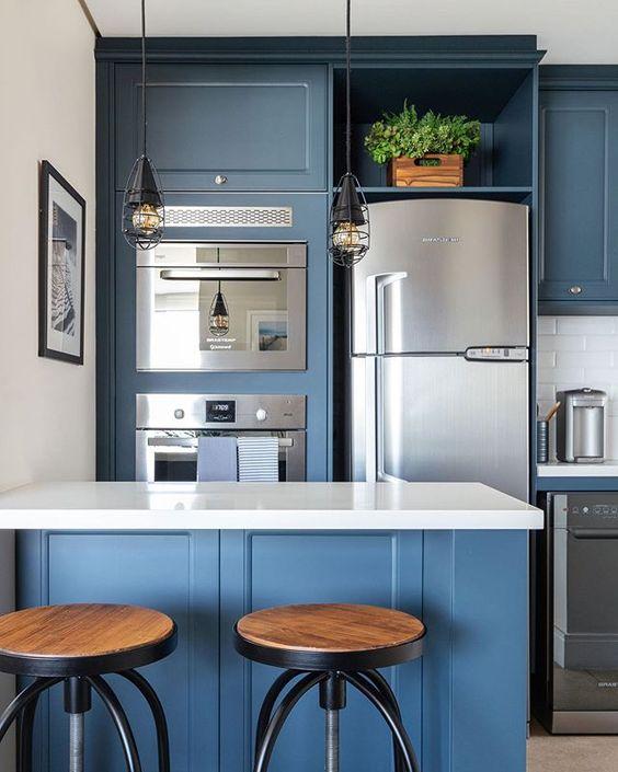cozinha-vintage-azul