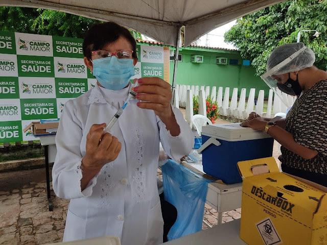Vacinação de pessoas com deficiência em Campo Maior tem início nesta segunda (24)