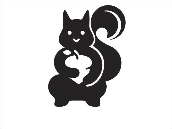 Contoh Desain Logo Negative Space - 17