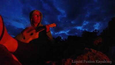 kayak camping on Mendocino County's Eel River