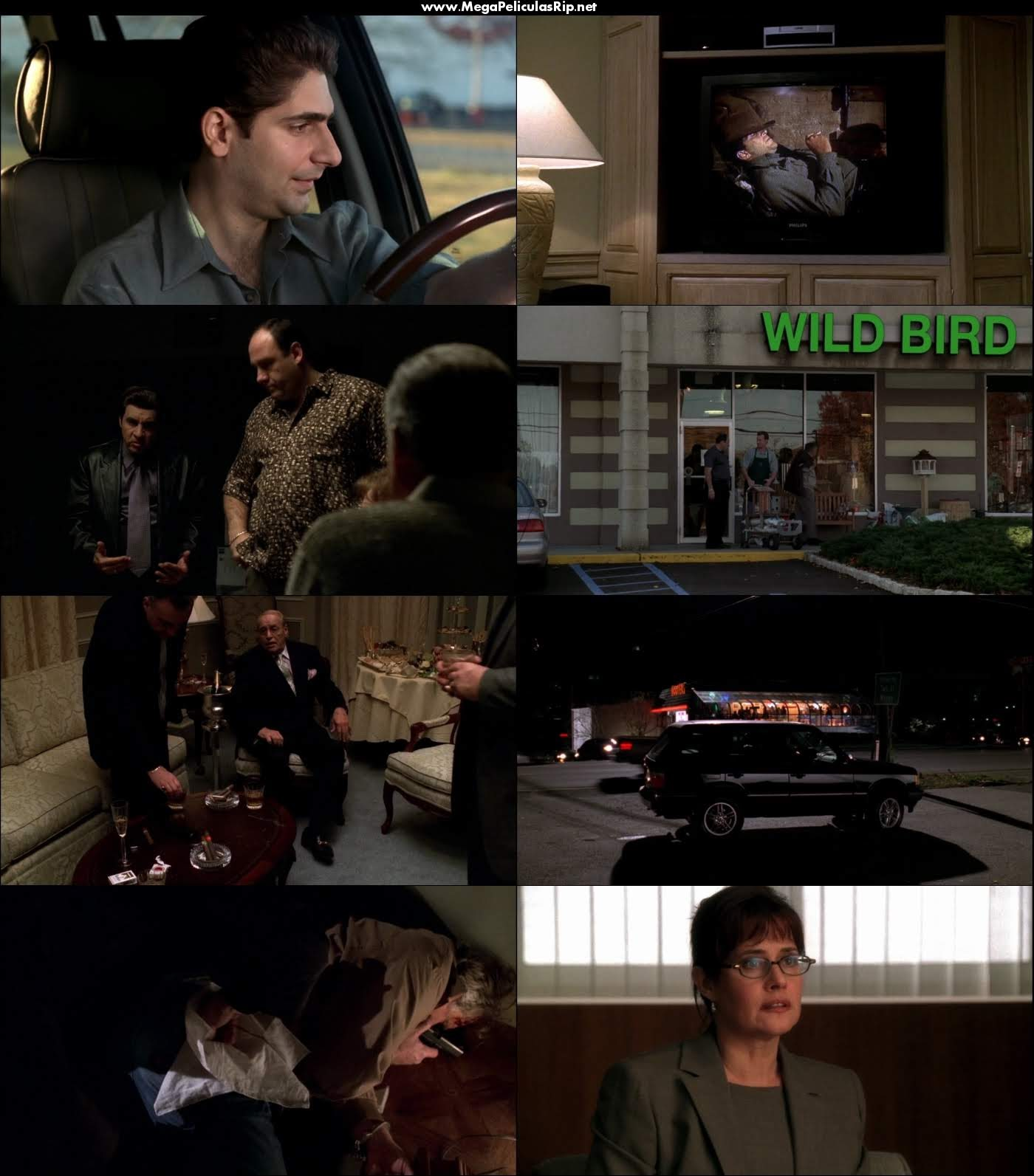 The Sopranos Temporada 4 1080p Latino