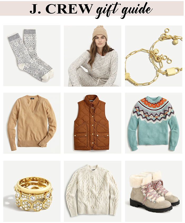 J Crew gift guide for her Black Friday Christmas deals 2020