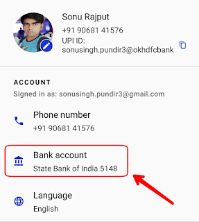 Google Tez Account Se Bank balance kaise check kare