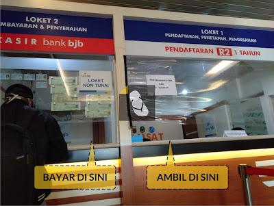 Prosedur Pembayaran Pajak STNK 1 Tahun di Samsat Outlet,