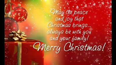 happy christmas messages friend