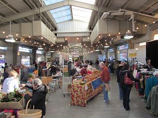inside the Santa Fe Farmers Market
