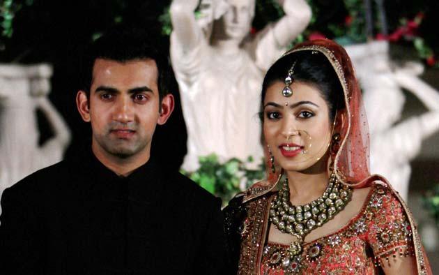 Gautam Gambhir and Natasha Jain - Wedding pictures...