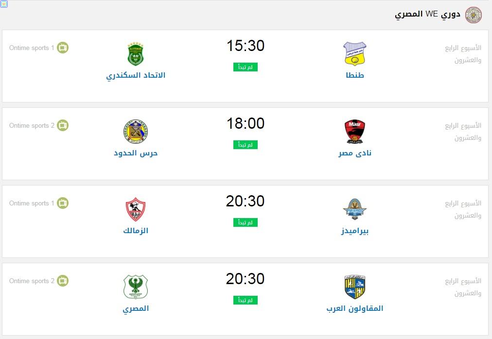 مواعيد مباريات اليوم الخميس 3/9/2020