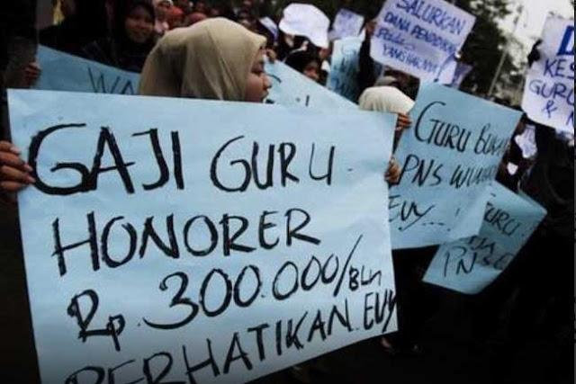 Sri Mulyani: Guru Honorer Juga Akan Dapat Gaji Tambahan RP 600 Ribu Per Bulan
