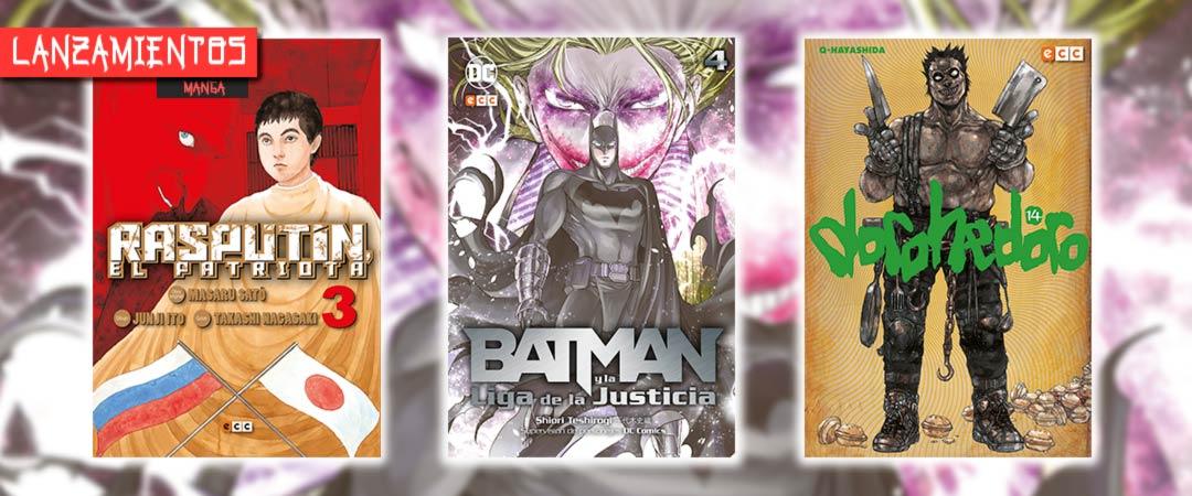 Novedades ECC Ediciones junio 2020 - Manga