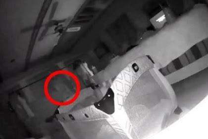 Spooky Footage Ghost Caught on CCTV Baby Monitor