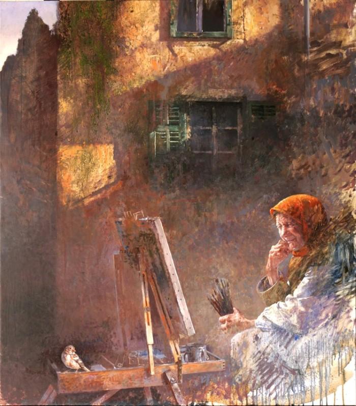 Балканский художник. Ljubo Popadic 9