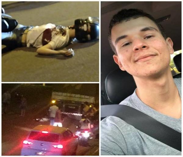 Rapaz de 20 anos morre após motocicleta atingir carreta em Colorado do Oeste; adolescente que estava na garupa sobreviveu