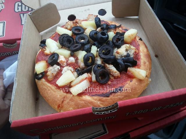 PIZZA HUT PERCUMA ! TERIMA KASIH PIZZA HUT