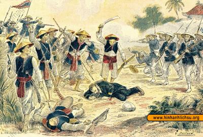 Francis Garnier trong trận Cầu Giấy năm 1873