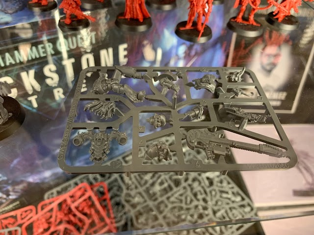 Noise Marine Sprue Pic!!! + More from the Vigilus Open Day