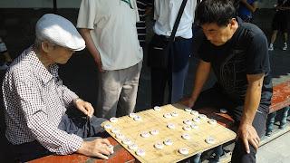Partida de ajedrez chino