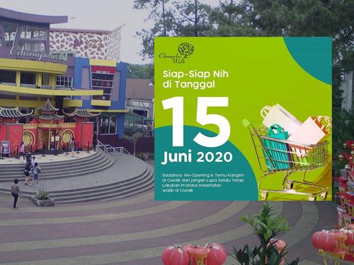 Kembali Dibuka 15 Juni 2020, Ini Protokol Mall-Mall di Bandung