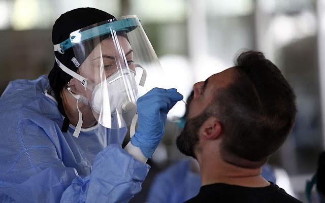 309 νέα κρούσματα covid-19 ανακοίνωσε ο ΕΟΔΥ ,που κατανέμονται   Νέα από το  Αγρίνιο και την Αιτωλοακαρνανία-AgrinioLike