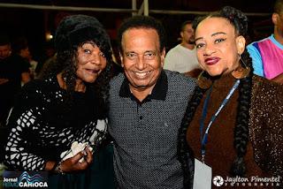 Teteu José, cantora Vanda Vermont e Tereza Pinheiro (Jornal Ritmo Carioca)