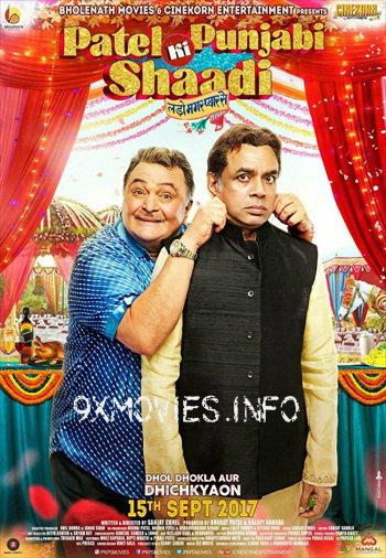 Patel Ki Punjabi Shaadi 2017 Hindi 480p DVDRip 300mb