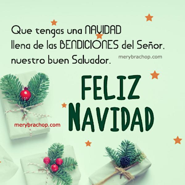 frases saludos de feliz navidad bendiciones cristianas para amigos familia