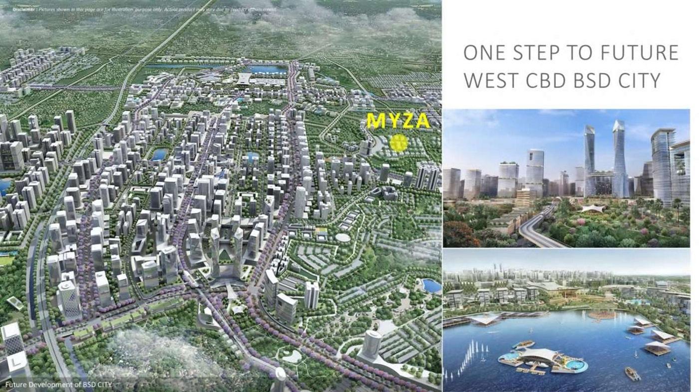 Myza FlatHouse BSD City