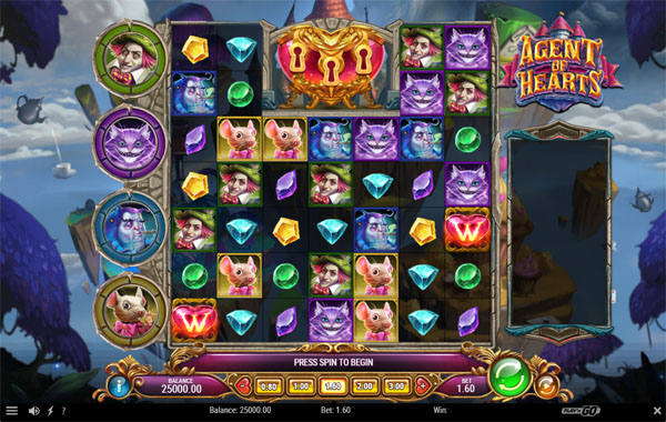 Main Gratis Slot Indonesia - Agent of Hearts Play N GO