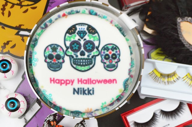 Celebrating Halloween with bakerdays' personalised letterbox cakes | Lovelaughslipstick Blog