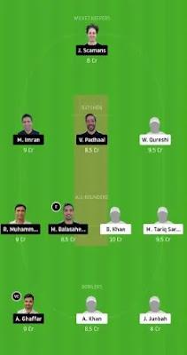 ECC vs FPC Dream11 team prediction