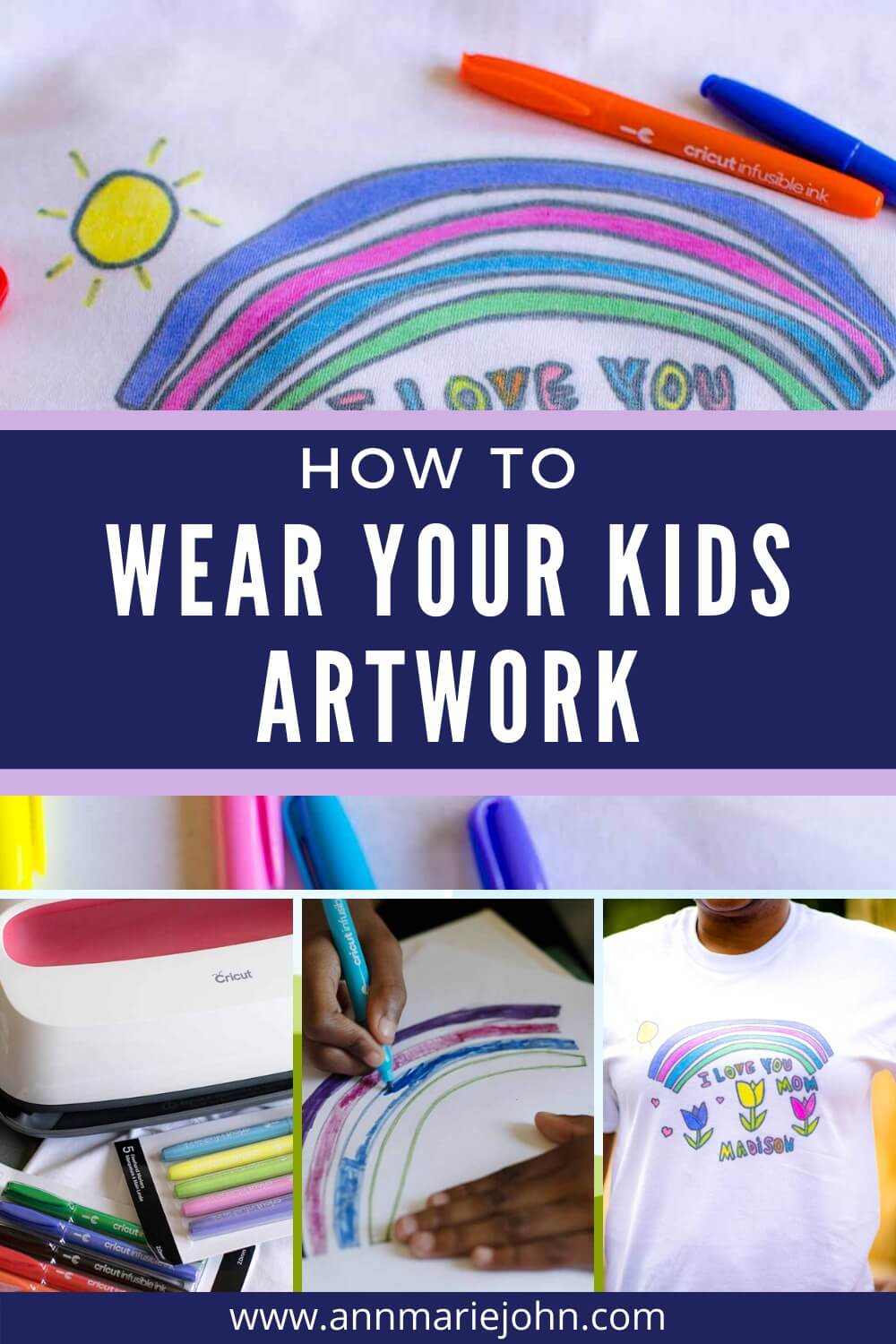 How to Wear Your Kids Artwork