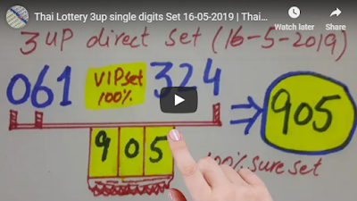 Thai lotto VIP tips 3up single digits Riyadh Saudi Arabia 16 May 2019