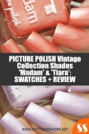 PICTURE POLISH Vintage Collection Shades 'Madam' & 'Tiara': SWATCHES + REVIEW