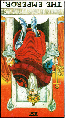 The Emperor Reversed Tarot Card Meaning- Major Arcana