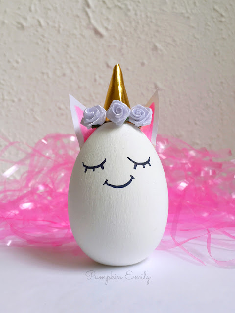 DIY Unicorn Easter Egg