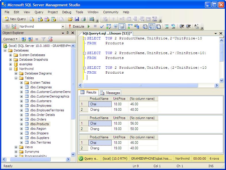 Sampling all data in tables in MS SQL Server ~ Dev Daily Hash