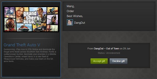 Cara Membeli Game Berbayar di Steam - Steam Gift