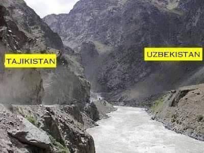 Tajikistan-Uzbekistan-Border