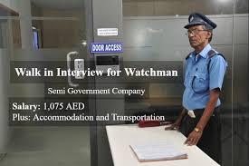Urgently Wacthman Cum Cleaner Jobs Vacancy For Indian/ PakistaniUrgently Wacthman Cum Cleaner Jobs Vacancy For Indian/ Pakistani