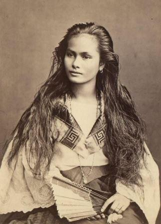 foto wanita cantik jaman dahulu