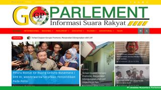 Website goparlement
