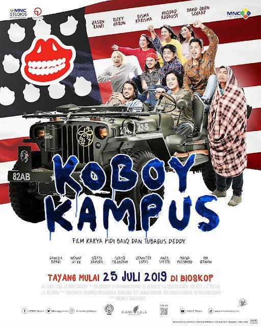 Nostalgia ke Era 90-an di film Koboy Kampus