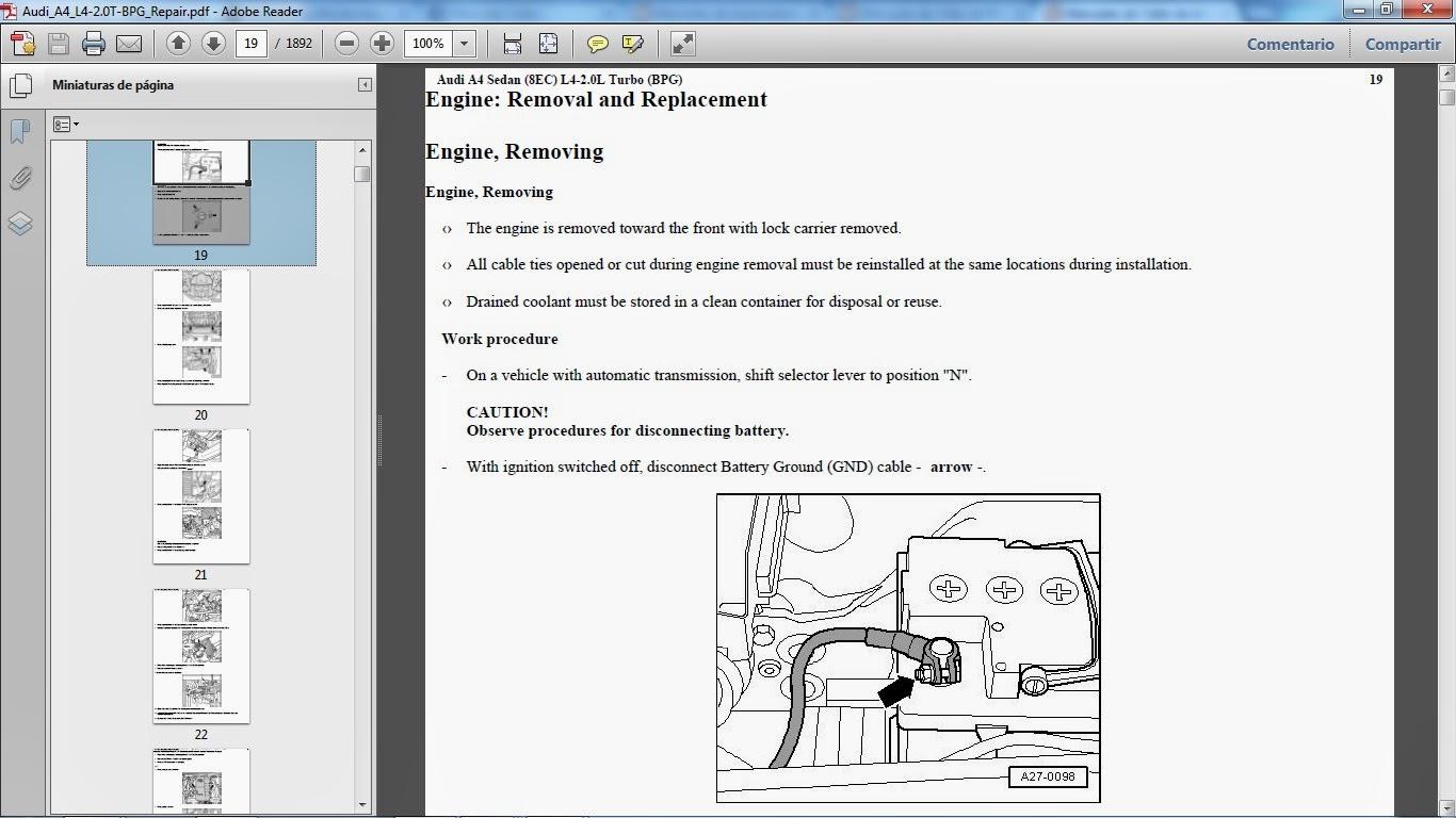 Manuales De Taller De Audi