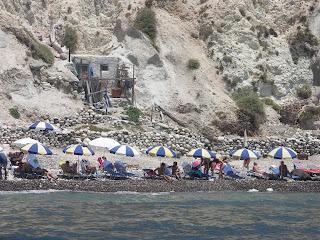 Santorini beach, Santorini plaża