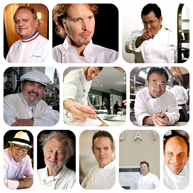 Great Chef's either written about or dined at their restaurants from articles on Wine Dine And Play
