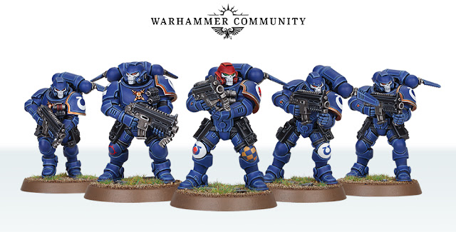 Marines Espaciales Primaris