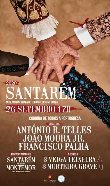 Importante cartel a 26 de Setembro em Santarém
