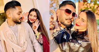 Saniya Shamshad with Her Husband   Beautiful Pictures